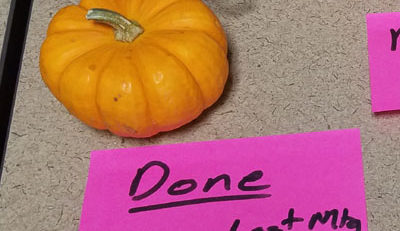 Definition of Done Fall Gourd